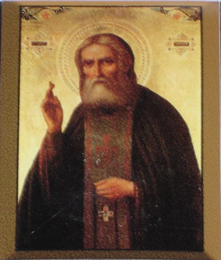 Иконка Серафима Саровского -2