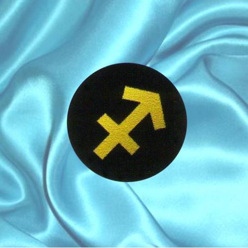 Пластинка для сотового телефона знак зодиака Стрелец