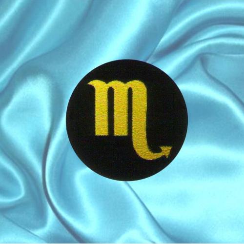 Пластинка для сотового телефона знак зодиака Скорпион