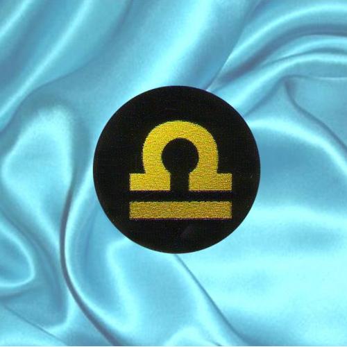 Пластинка для сотового телефона знак зодиака Весы