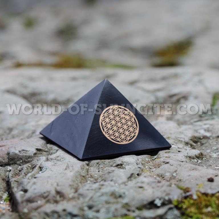 """Пирамида """"Цветок жизни"""" - 7см"""