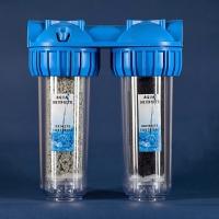 Магистральный двухконтурный фильтр (шунгит,цеолит)