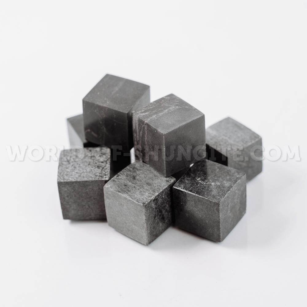 Набор камней для виски полированный из стеатита (талькохлорита) 9 шт.