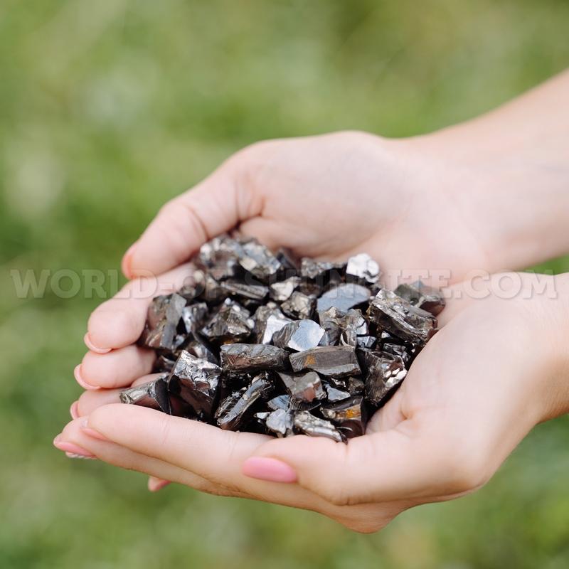Кусочки элитного шунгита до 5 грамм