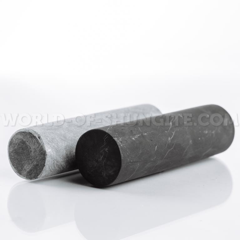 Цилиндр  из шунгита неполированный